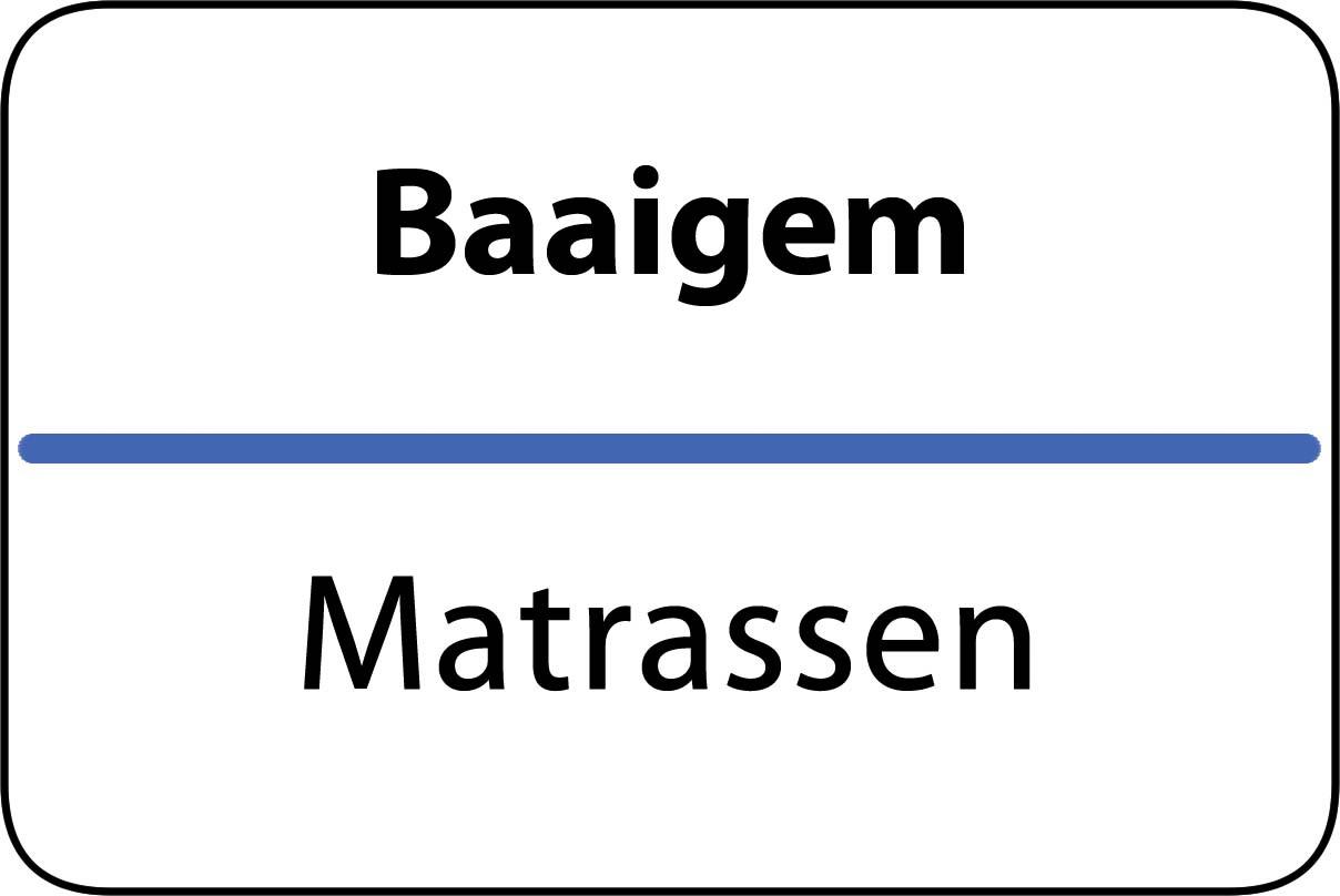 De beste matrassen in Baaigem