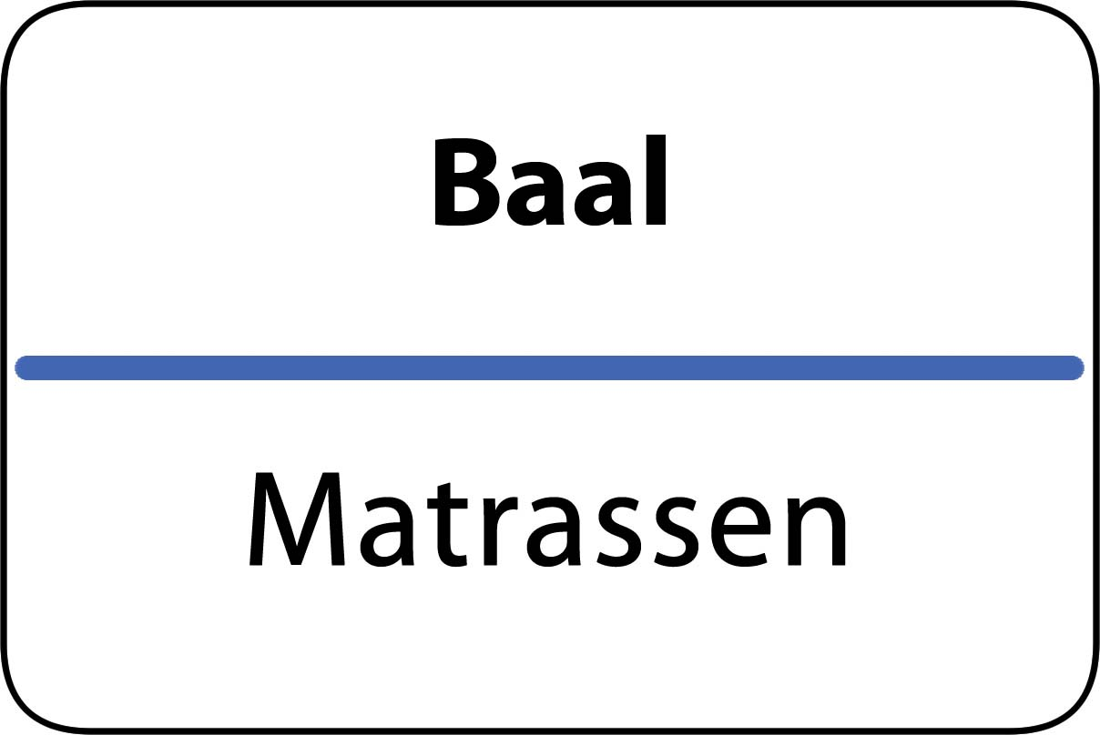De beste matrassen in Baal