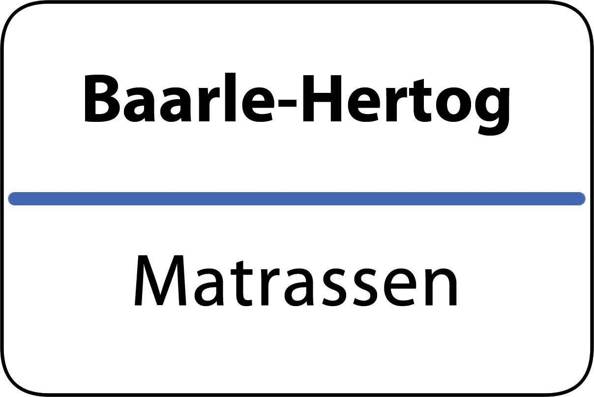 De beste matrassen in Baarle-Hertog