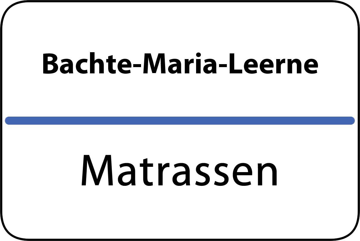De beste matrassen in Bachte-Maria-Leerne