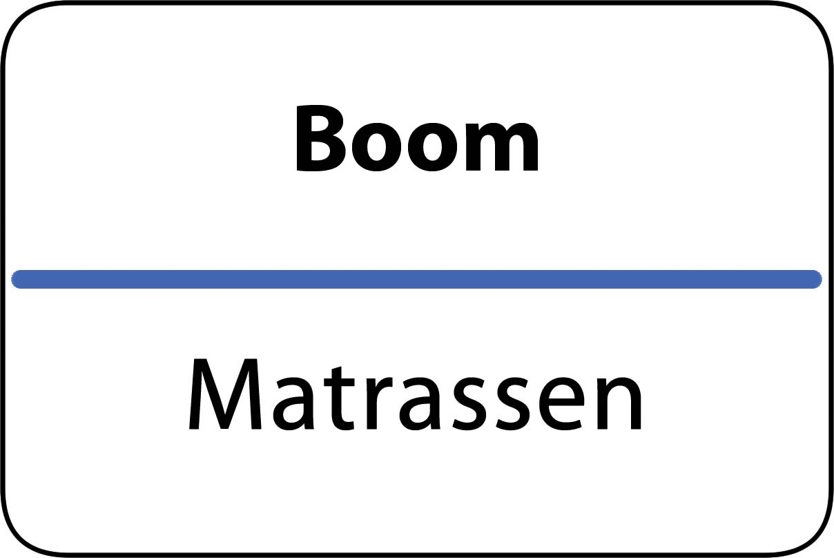De beste matrassen in Boom