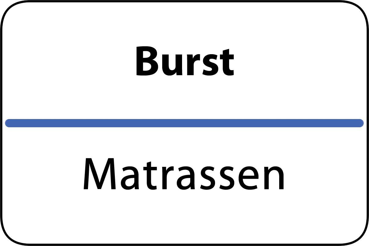 De beste matrassen in Burst
