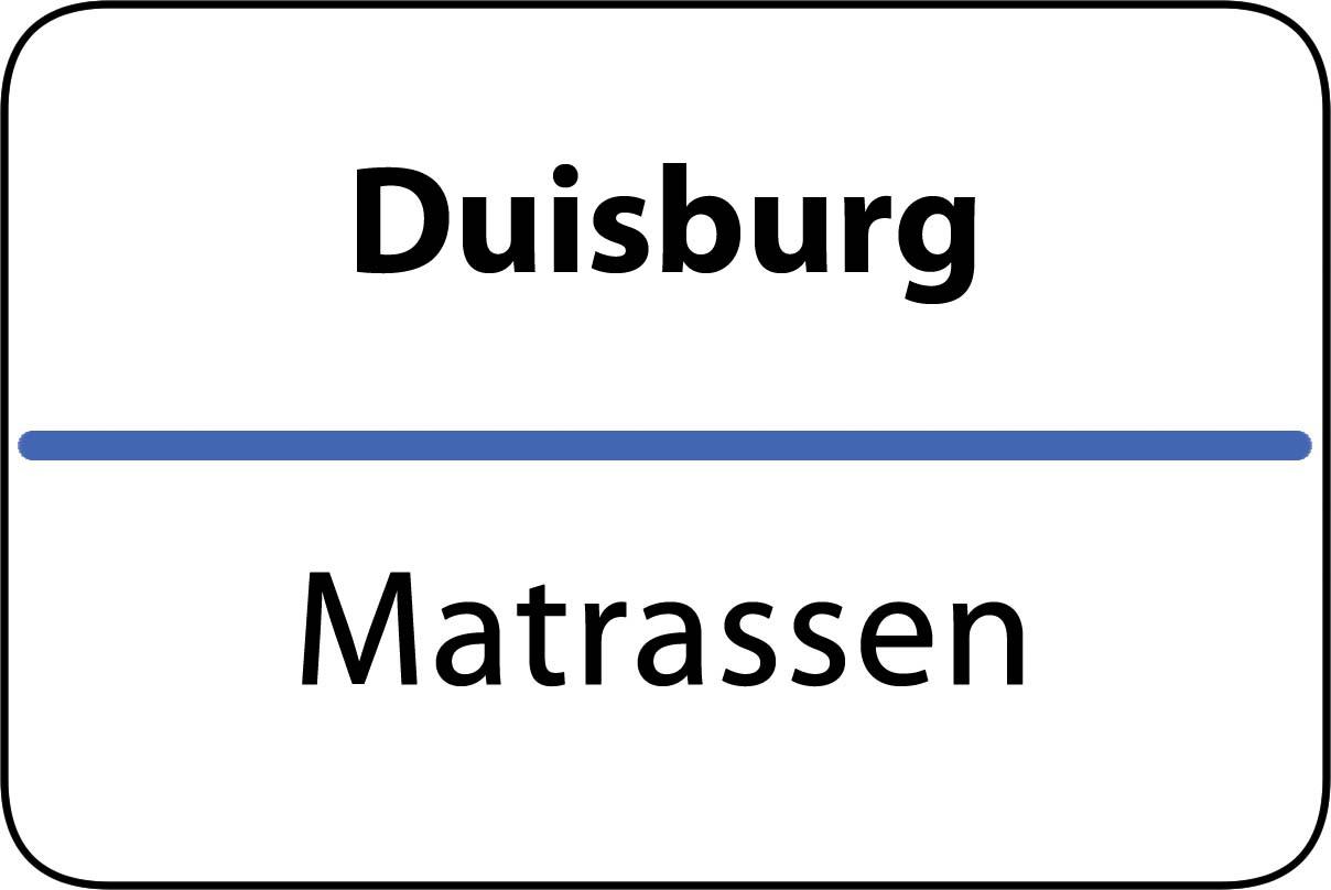 De beste matrassen in Duisburg