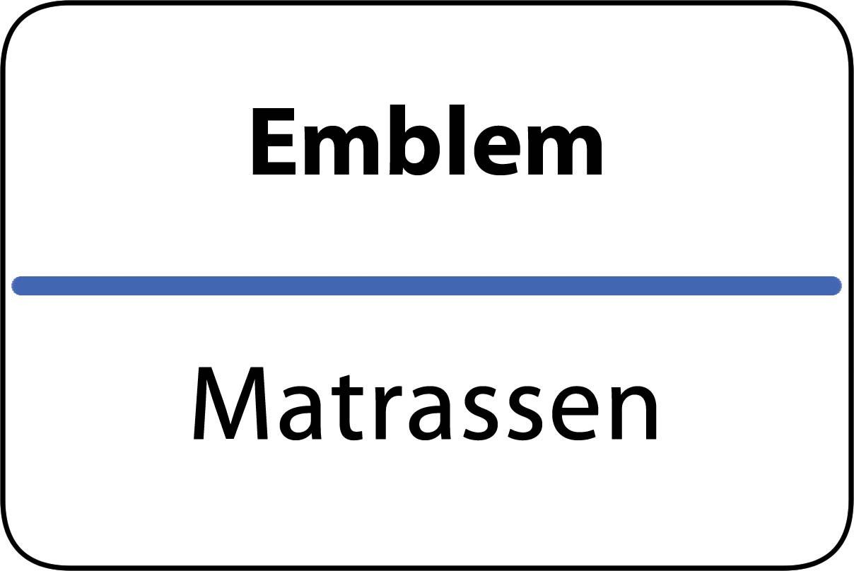 De beste matrassen in Emblem