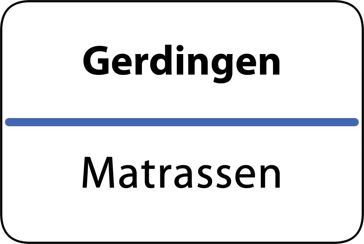 De beste matrassen in Gerdingen