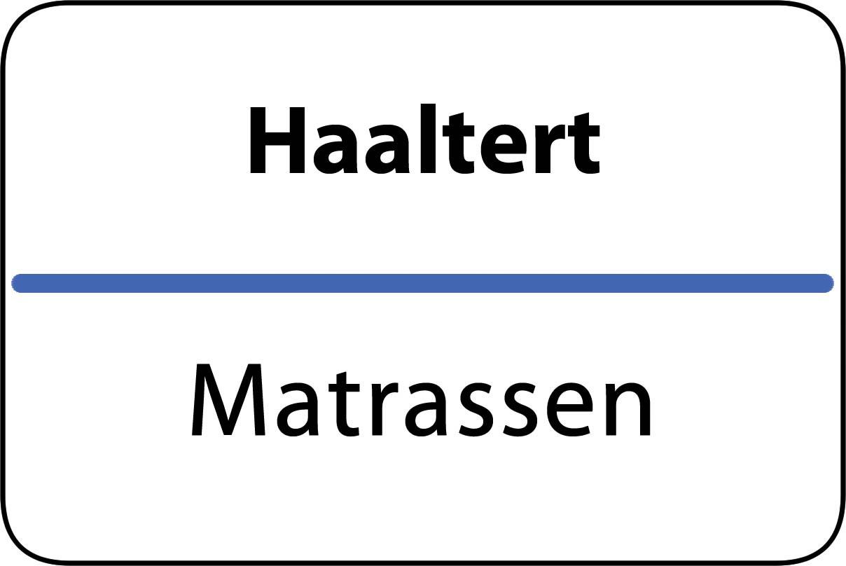 De beste matrassen in Haaltert