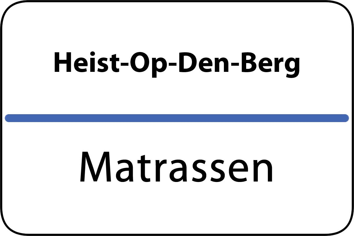 De beste matrassen in Heist-Op-Den-Berg