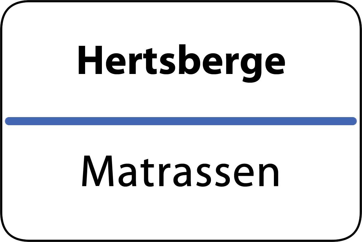 De beste matrassen in Hertsberge