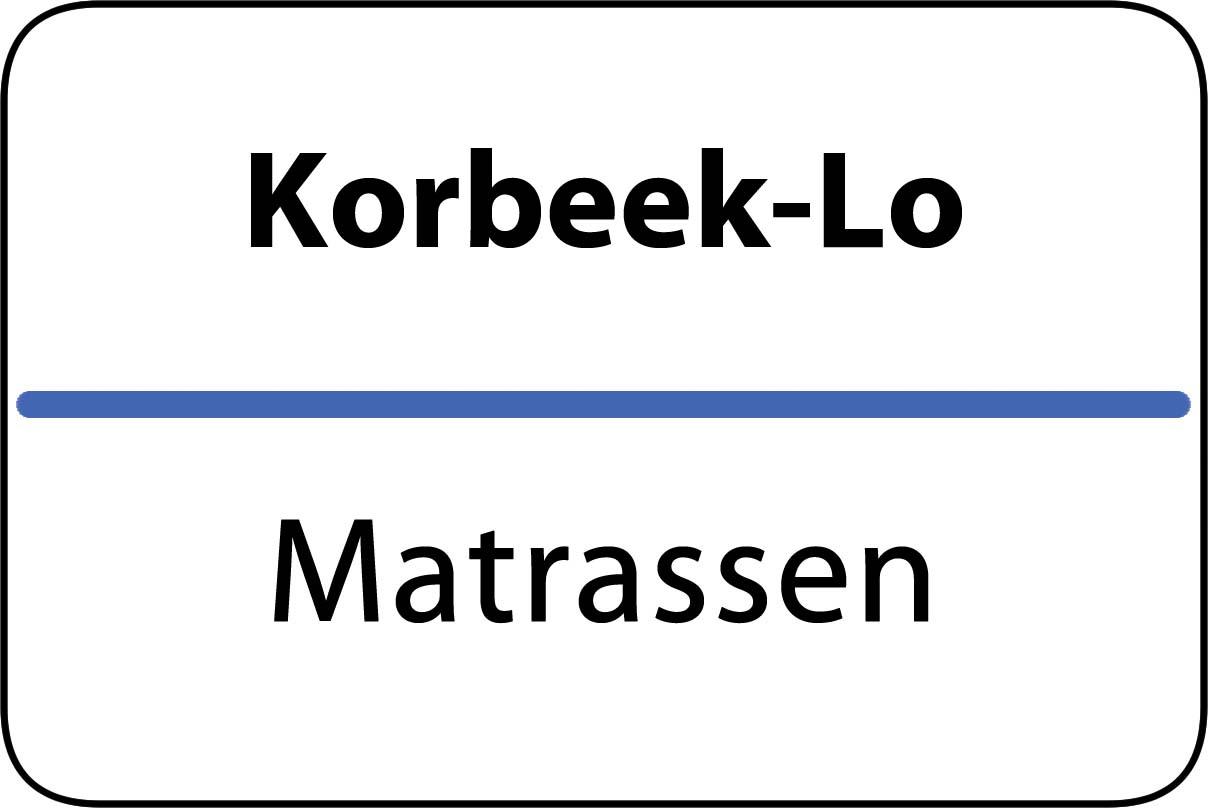 De beste matrassen in Korbeek-Lo