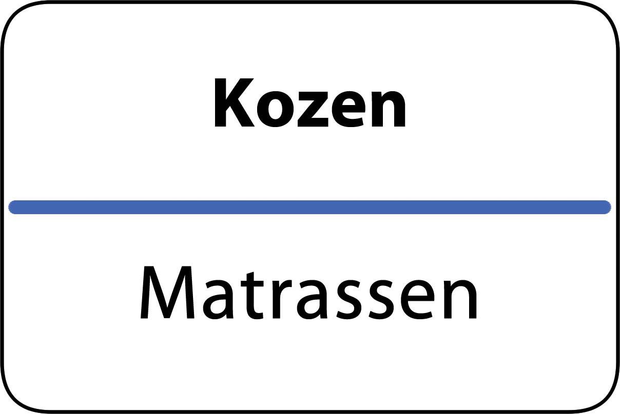 De beste matrassen in Kozen