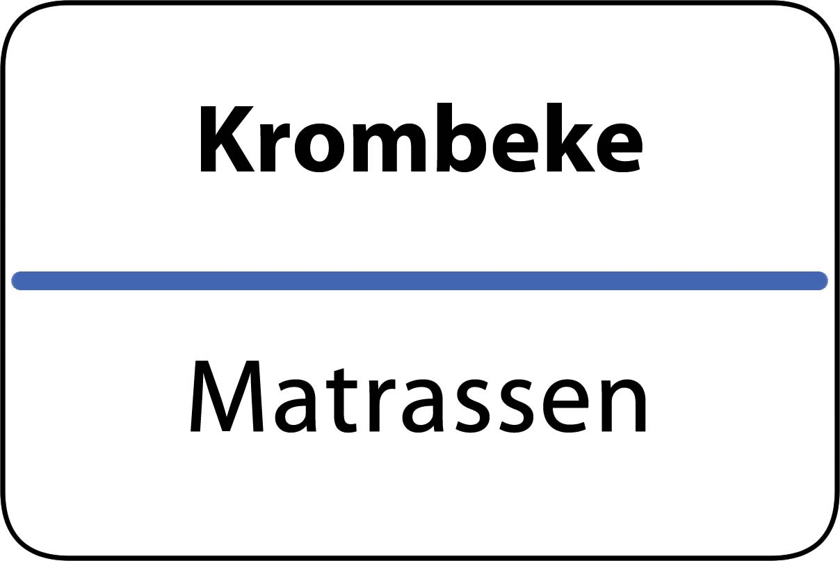 De beste matrassen in Krombeke