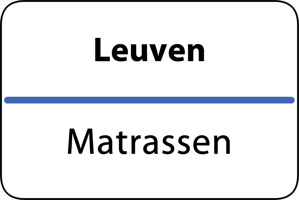 De beste matrassen in Leuven
