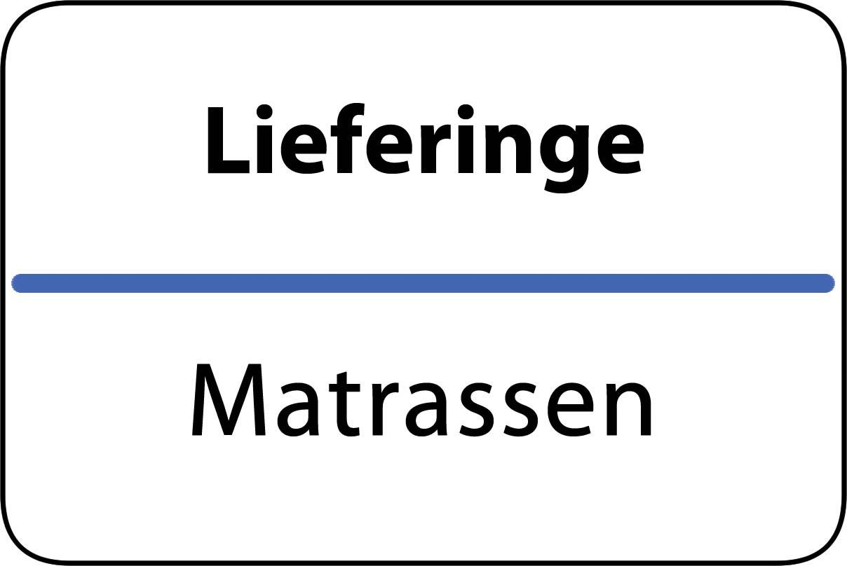 De beste matrassen in Lieferinge