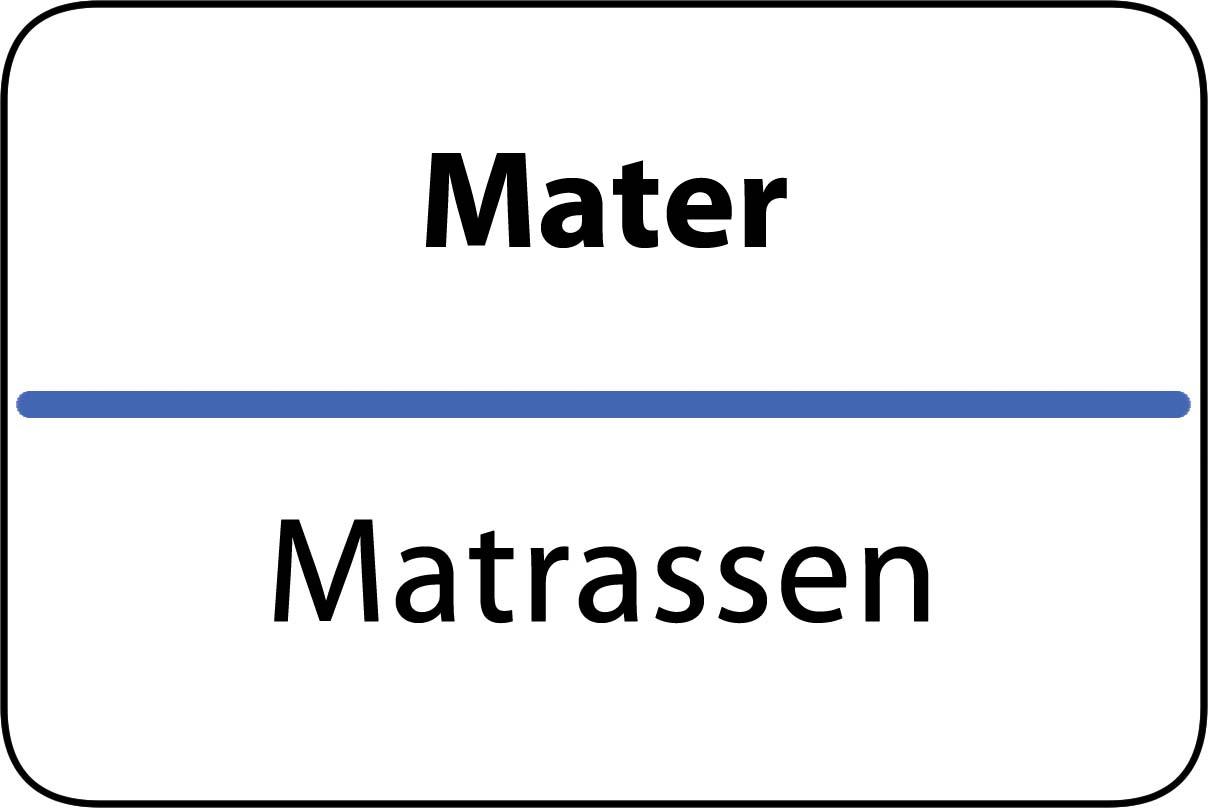 De beste matrassen in Mater
