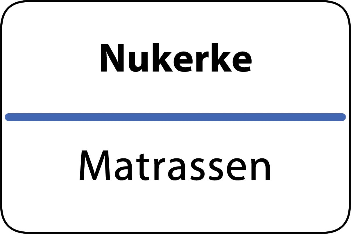 De beste matrassen in Nukerke