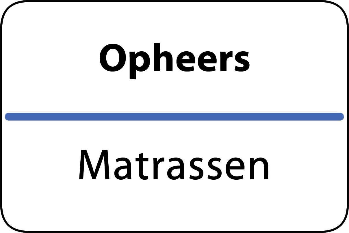 De beste matrassen in Opheers