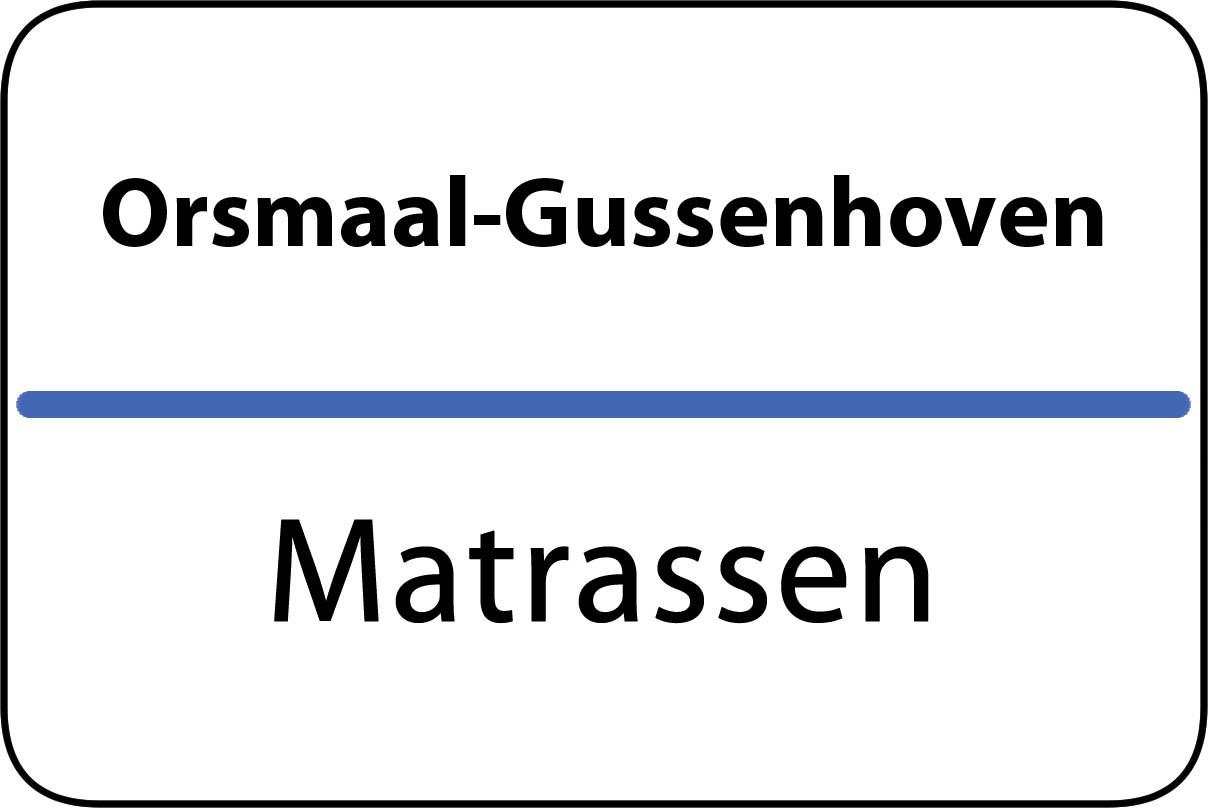 De beste matrassen in Orsmaal-Gussenhoven
