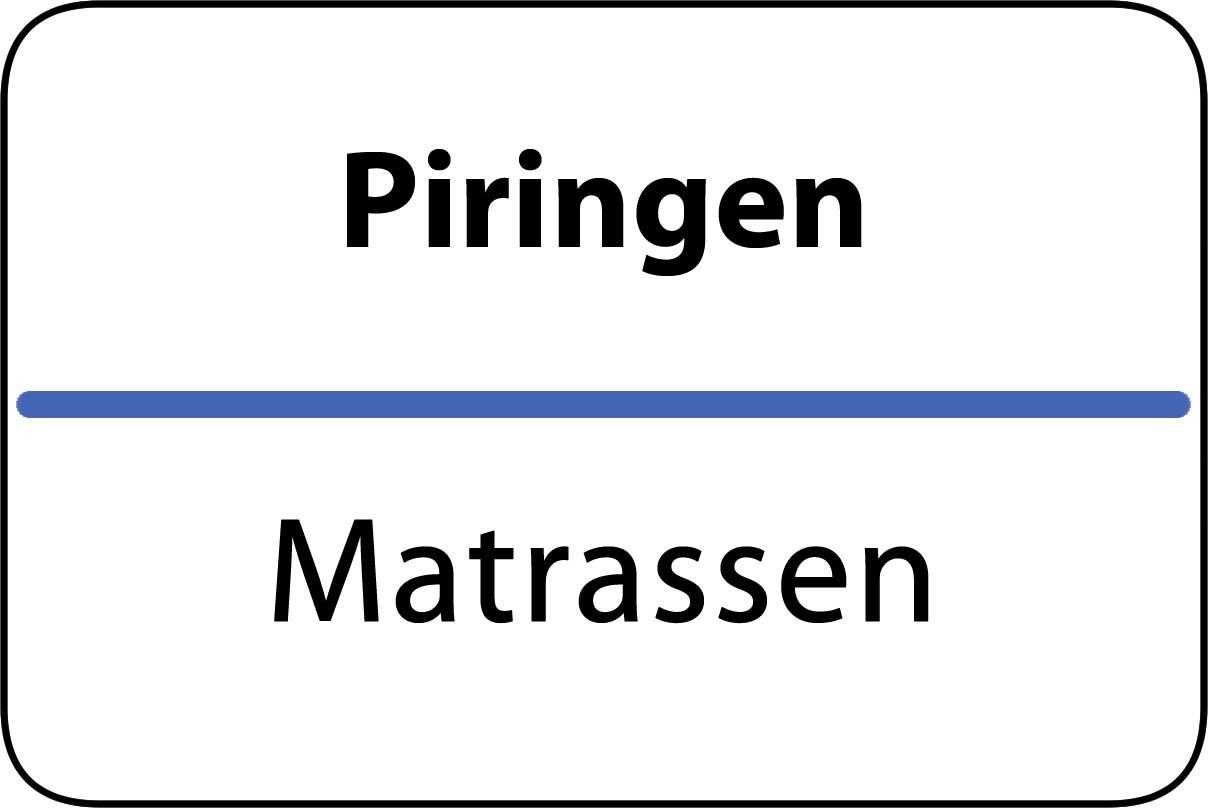 De beste matrassen in Piringen