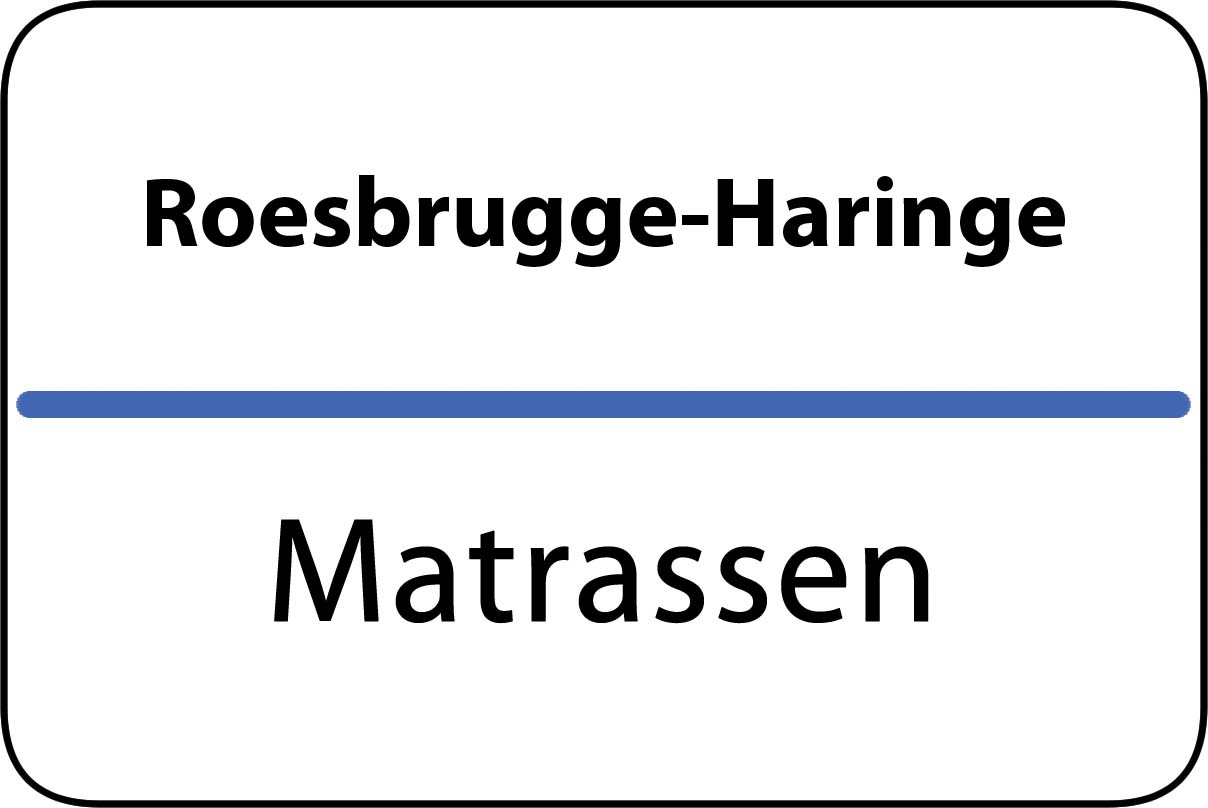 De beste matrassen in Roesbrugge-Haringe