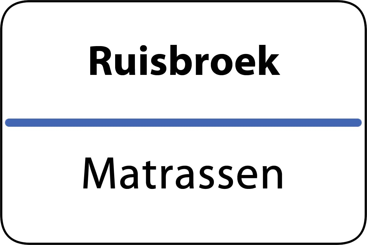 De beste matrassen in Ruisbroek