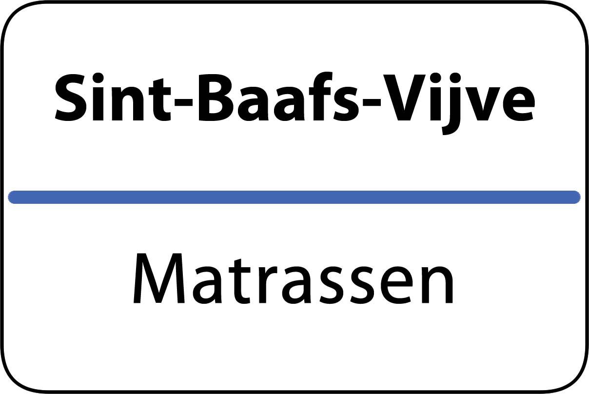 De beste matrassen in Sint-Baafs-Vijve