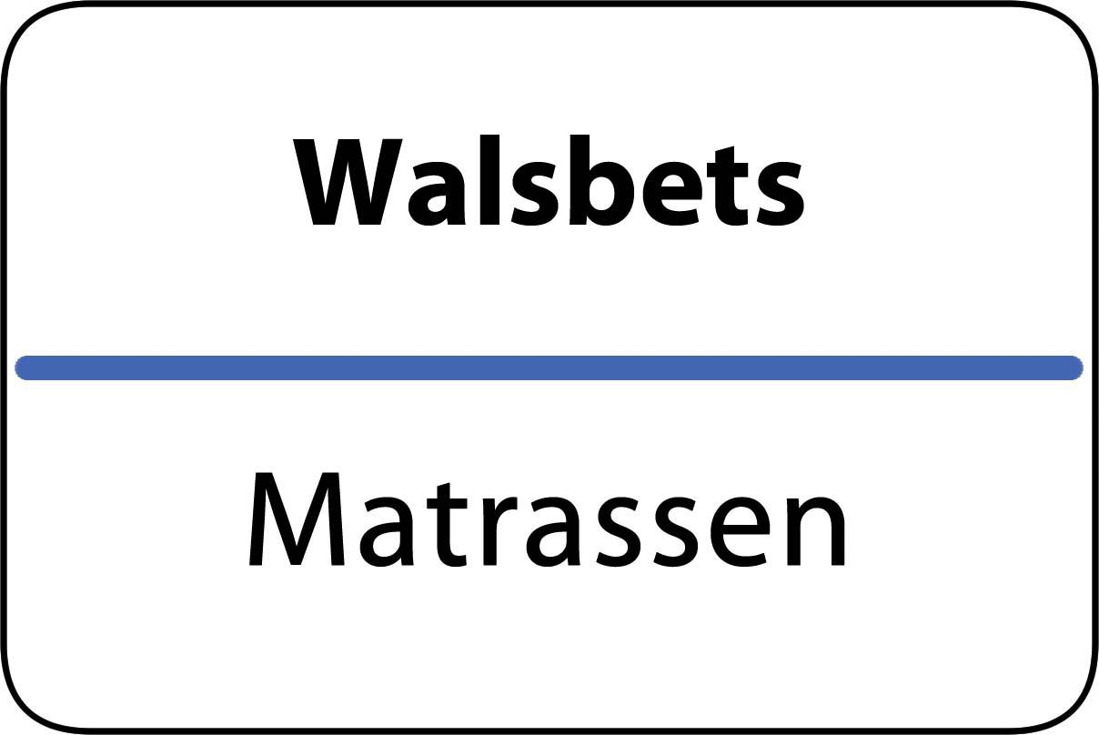 De beste matrassen in Walsbets