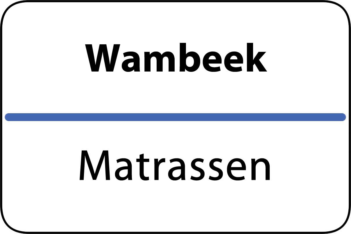 De beste matrassen in Wambeek