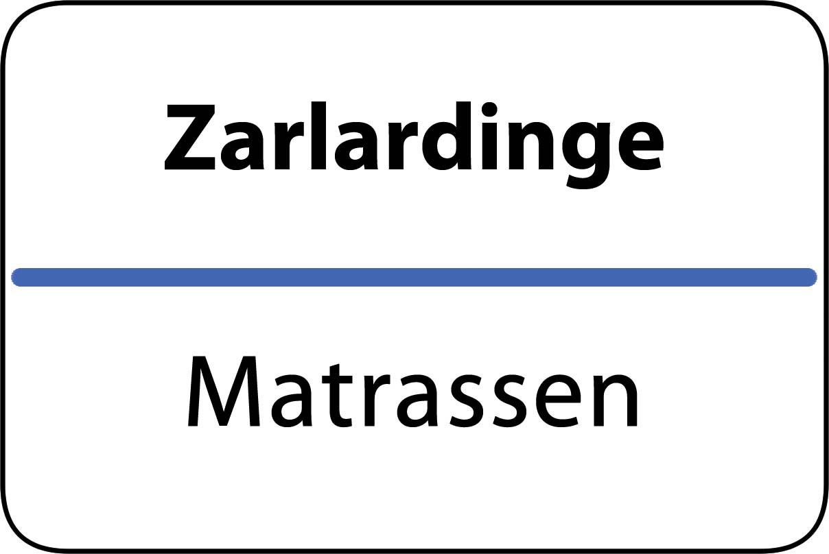 De beste matrassen in Zarlardinge