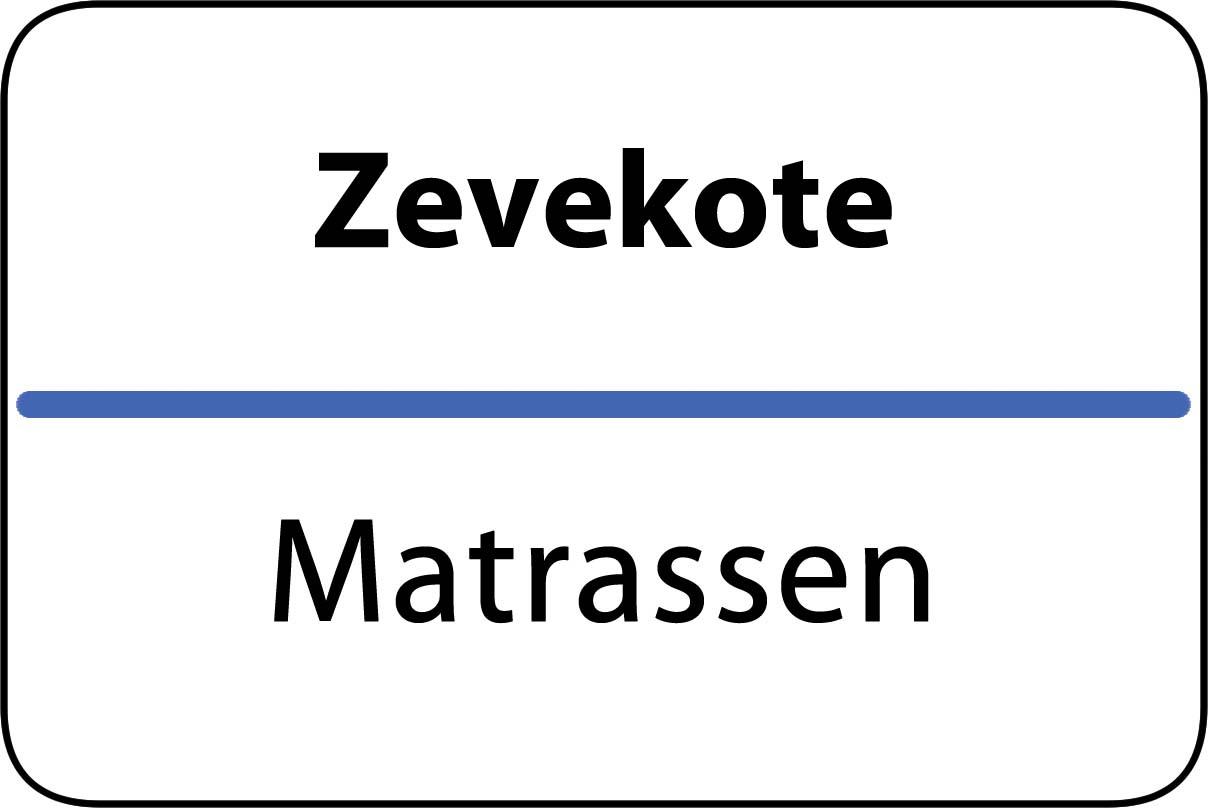 De beste matrassen in Zevekote